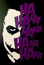 Joker car van window sticker vinyl decal JDM DRIFT VW BMW FORD STANCE DECALS