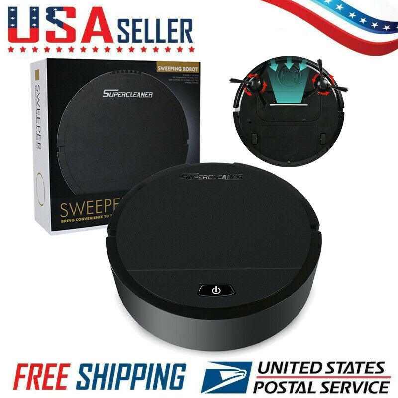 Smart Cleaning Robot Auto Robotic Vacuum Dry Wet Clean Moppi