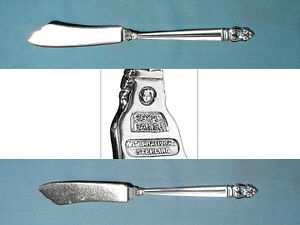 """Royal Danish by International Sterling Silver Master Butter Flat Handle 7/"""""""