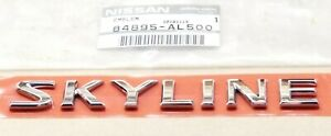 Nissan 84895-AL500 OEM Emblem for Nissan Skyline Infiniti G35 350GT Mini Size