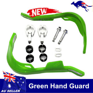 GREEN-HAND-GUARDS-22MM-7-8-034-MOTORCYCLE-BIKE-DIRT-PIT-HONDA-YAMAHA-KAWASAKI-NEW
