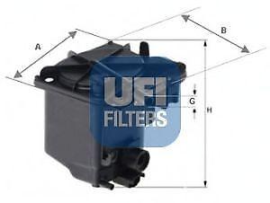 Filtro carburante UFI 24.027.00 CITROEN FIAT MAZDA MINI PEUGEOT SUZUKI VOLVO