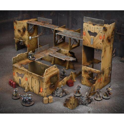 Mantic Games Entièrement neuf dans sa boîte terraincrate Gang WARZONE MGTC 103