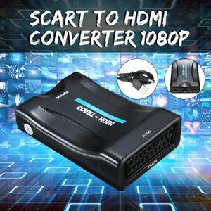 Details about 1080P Scart To HDMI MHL Converter USB Video Adapter For HD TV  DVD Sky Box STB