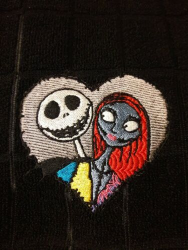 Nightmare Before Christmas Embroidered Kitchen hand towels