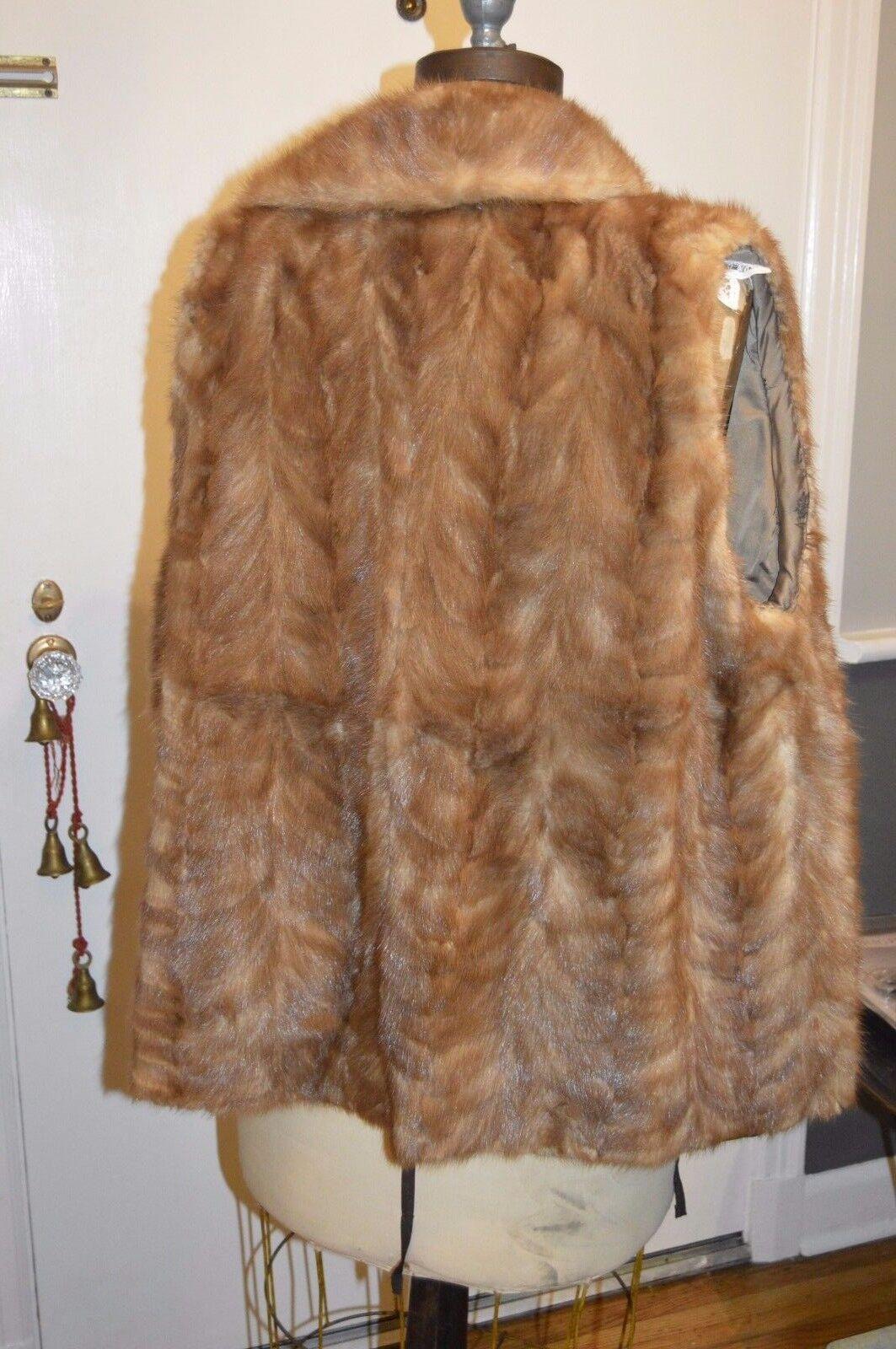 890a33dd0 Brown mink fur vest m l dxzc62c473129-Coats, Jackets & Vests ...