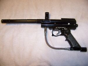 Details about Vintage metal trigger frame Spyder Paintball gun original  barrel old school
