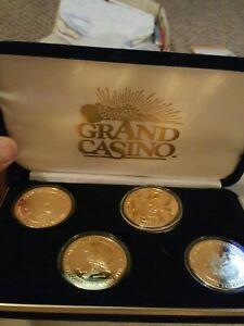grand casino collector coin wildlife series