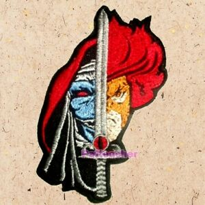Lion-o Face Patch Thundercats Lord Sword of Omens Evil Mumm-ra Embroidered