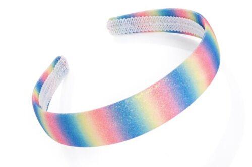 Pastel Rainbow Glitter Effect Headband