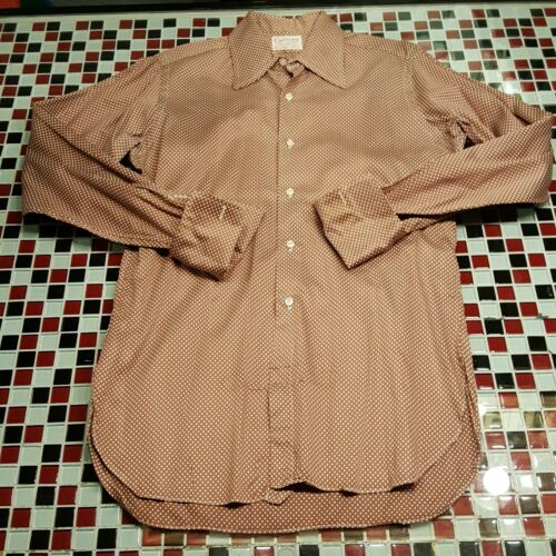 VTG 60's 70's 15x34 Cuzzens FRENCH CUFF Shirt Disc
