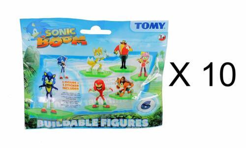10x locale Sonic The Hedgehog-Sonic Boom TEMPERAMATITE Figure ciechi Bags