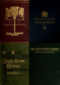 195 old books on the anglo saxon history culture wars language image is loading 195 old books on the anglo saxon history fandeluxe Choice Image