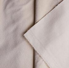 FAT QUARTER (50x60cms) Gorgeous Cream Cotton furnishings Velvet - INC 1STCL POST