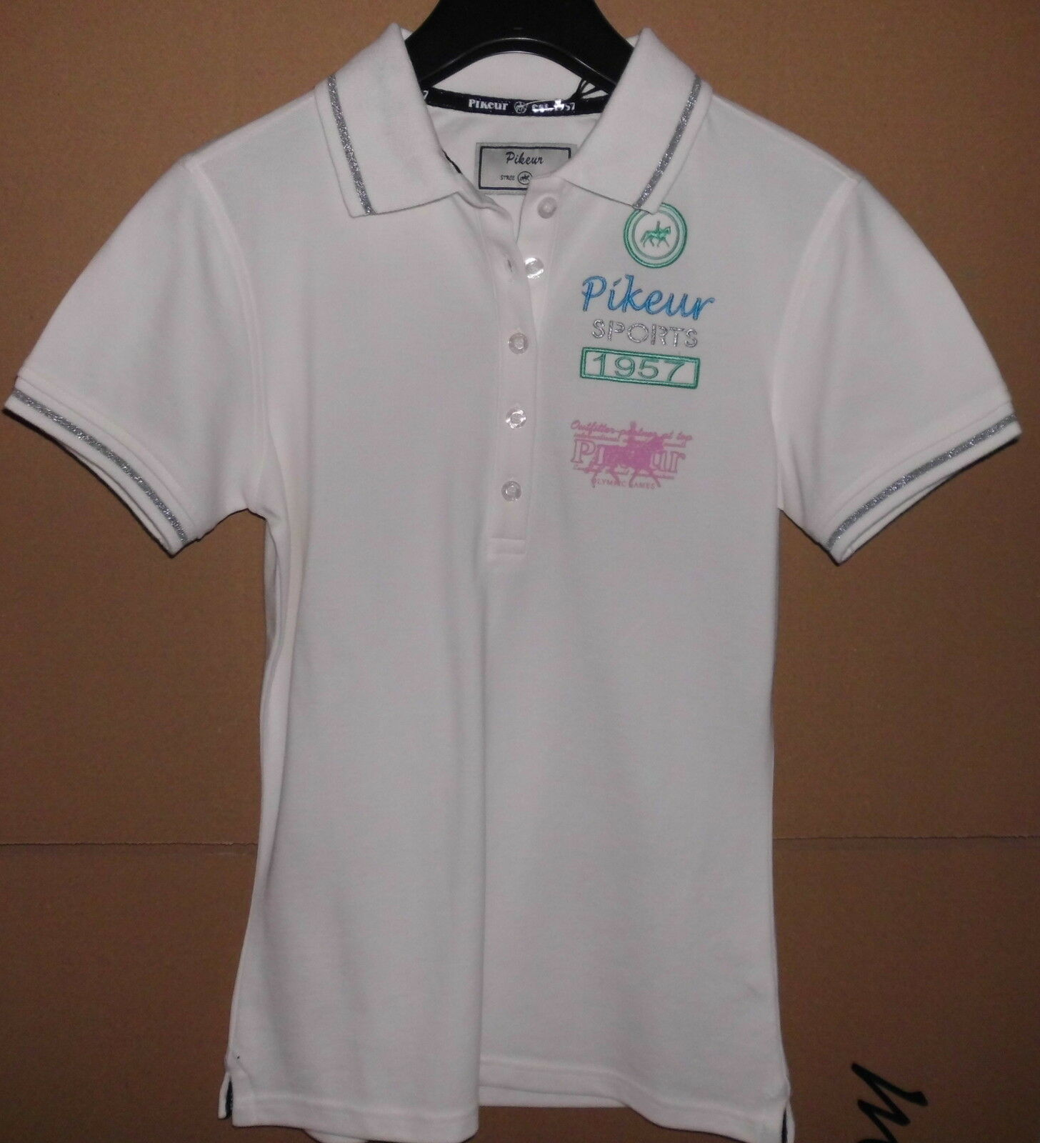 Pikeur Polo Pique T- Shirt, Gr.34, creme,  Loreen ,  Neu  sale online discount low price