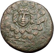 AMISOS in PONTUS MITHRADATES VI the GREAT Gorgon Aegis Nike Greek Coin i55337