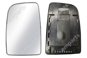 VW-Crafter-Wing-Mirror-Upper-Large-Glass-SLIDE-ON-Sliding-Type-Left-N-S