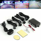 4 Parking Sensors Car Backup Reverse Radar Rearview Buzzer Sound Alarm TF