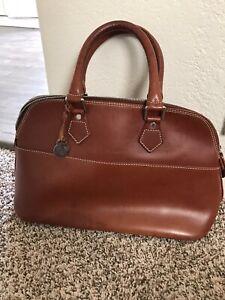 Dooney-amp-Bourke-Domed-Satchel-Handbag