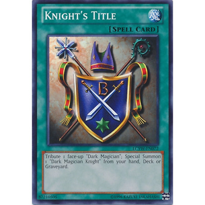 Knight/'s Title Common LCYW-EN072 Unlimited Edition