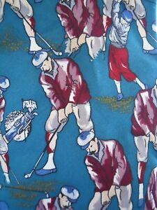 Resilio-Golf-Golfer-Novelty-Mens-Silk-Necktie-Sport-Tie-Golfing