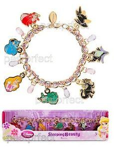 Image Is Loading Disney Sleeping Beauty Charm Bracelet 8 034 Maleficent