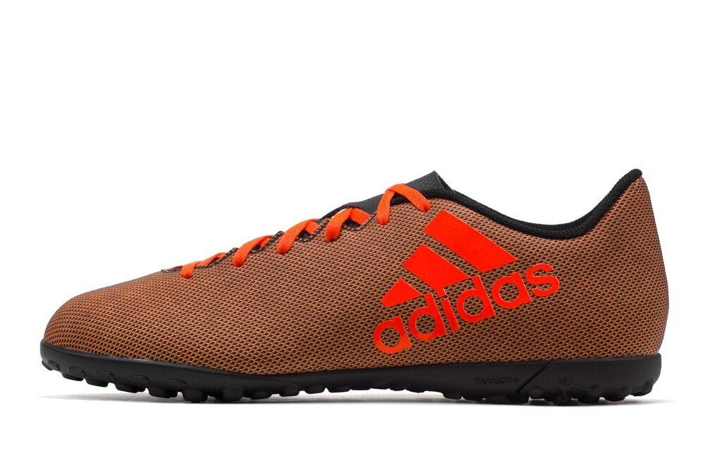 purchase cheap 8c641 71474 Adidas Hommes X X X TF Chaussures de UK foot s Orange Rouge   Pour Gagner L