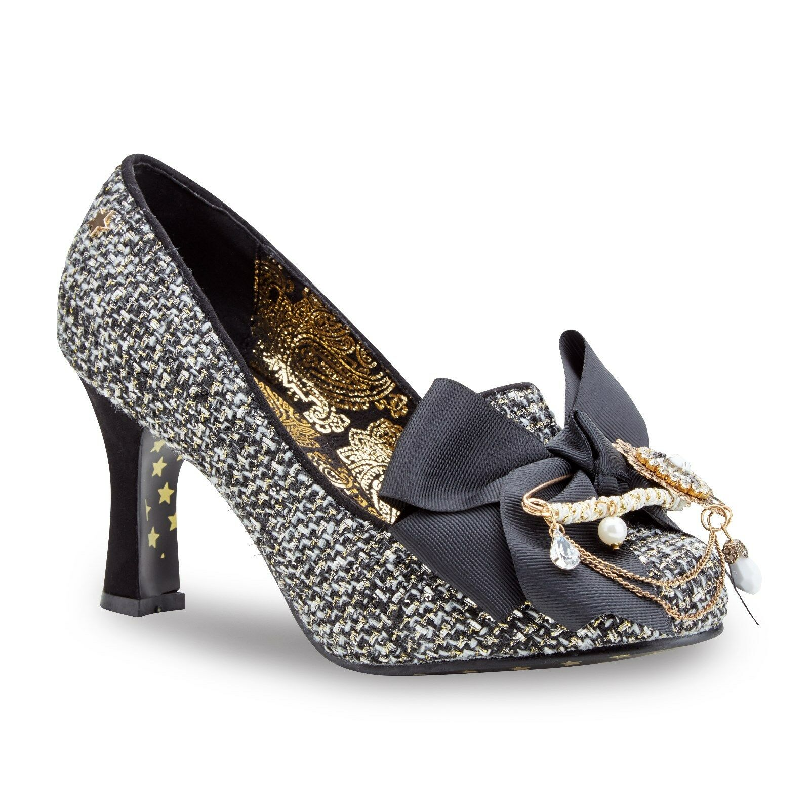 Ladies Joe Browns Couture Regal Retro Shoe Boots Vintage Quirky Retro Regal Sizes 4-8 9072be