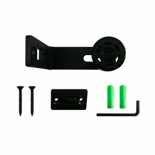 Upgrade Adjustable Wall Mount Bottom Floor Guide For Sliding Barn Door Hardware