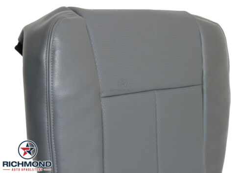 2012 2013 Ford F250 F350 XL Work-Truck Driver Side Bottom Vinyl Seat Cover Gray