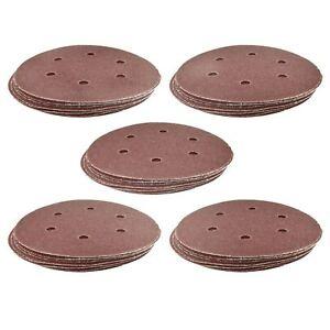 Crochet-boucle-de-poncage-abrasif-disques-orbital-da-palm-sander-50-pk-150mm-mixed-grit