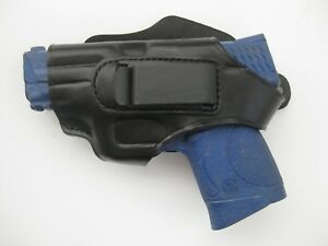 Armadillo Black Leather Butterfly Holster w//strap for Glock 43 42 H3B-43 OWB