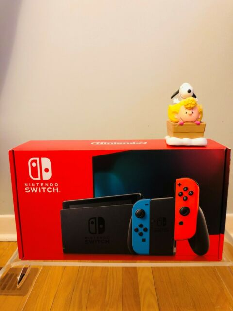 Nintendo Switch 32GB Neon Red/Neon Blue Console New Version FREE 1 DAY SHIP