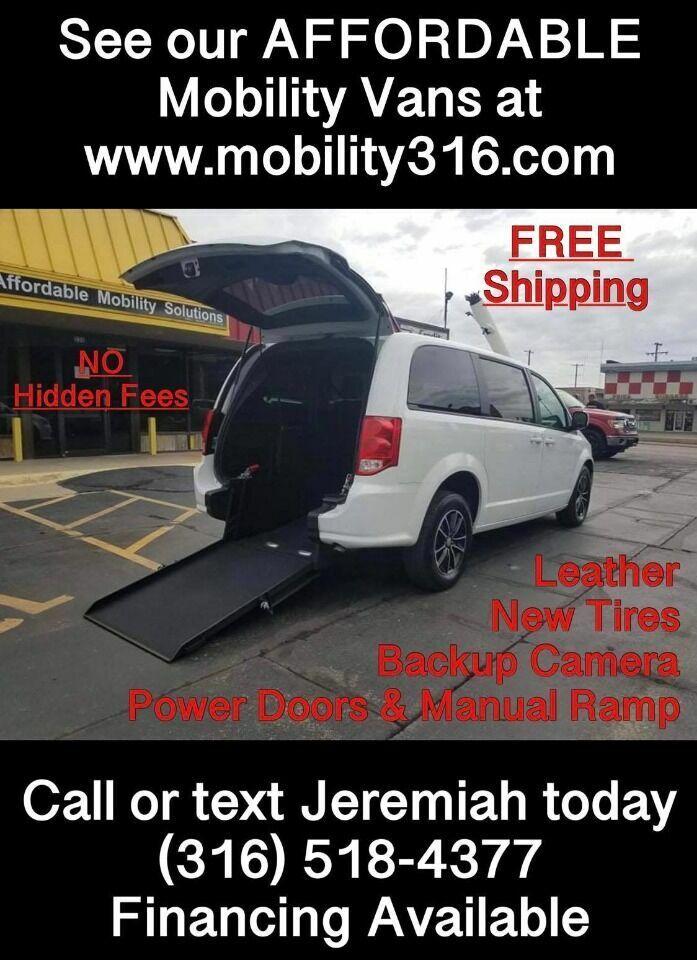 2019 Dodge Grand Caravan Wheelchair Mobility Handicap