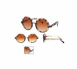 dfe8cdacdc2 Image is loading Glamorous-Ladies-Sunglasses-Brown-Stylish-Large-Geek-with-