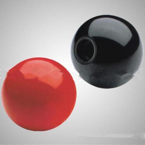 1PC Lathe Tractor Machine Bakelite Circular Ball Knob Handle Black Red