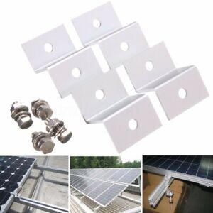 4STK-Solarmodul-Solarpanel-Edelstahlwinkel-Ecke-Montage-Z-Winke-Montageset