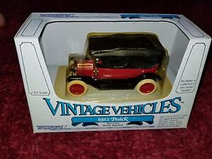 Vintage-ERTL-1912-Buick-Model-35-Die-Cast-1-43-Metal-Replica-1985-MIP-NOS