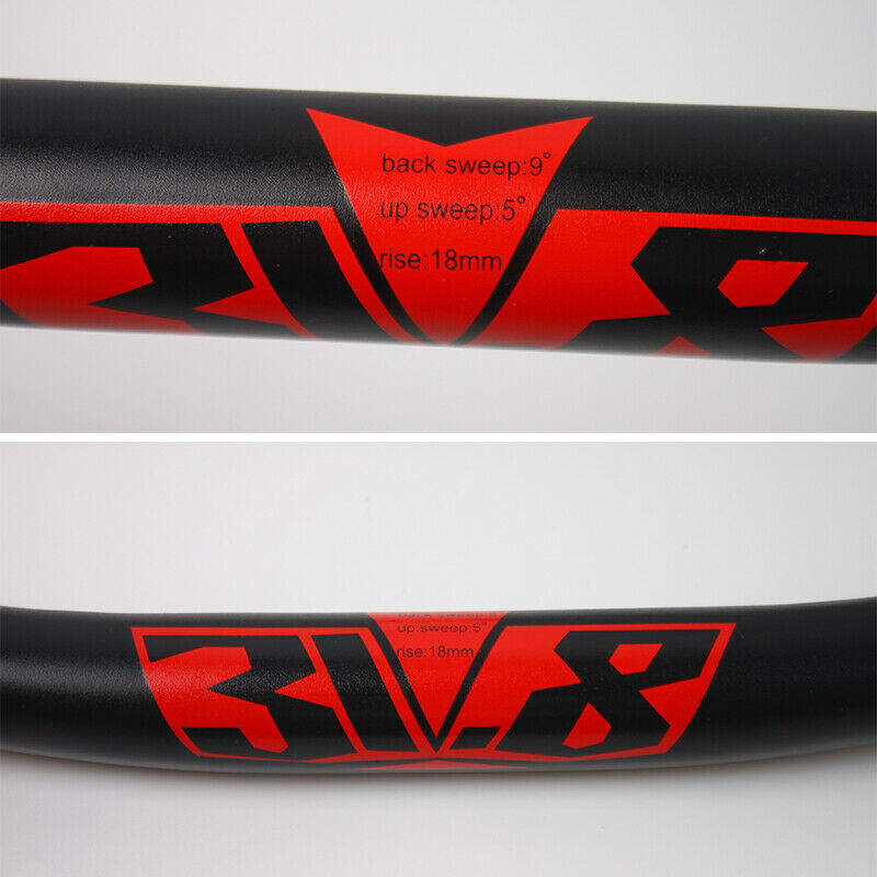MTB//DH//XC Bike Handlebar 31.8*780mm Length Aluminum Riser 18mm Bar 10 Degree