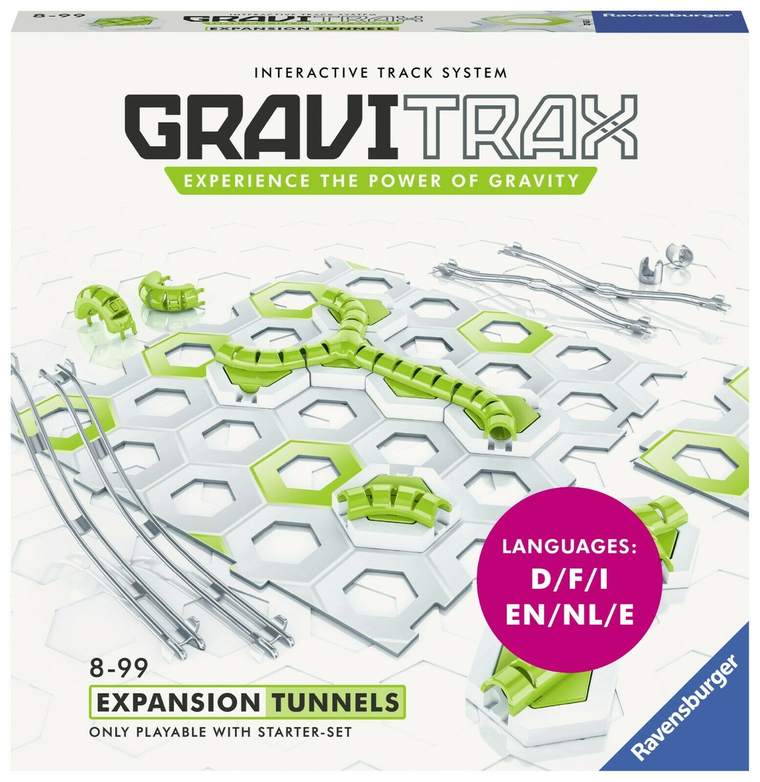 Ravensburger GraviTrax 27623 EXPANSION TUNNELS - Extension