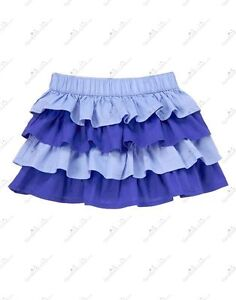 Audacious Nwt Gymboree Safari Smiles Sparkle Safari Blue Tiered Ruffled Skirt 4t Numerous In Variety Clothing, Shoes & Accessories