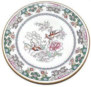 Antique-Minton-C150-Luncheon-Plate-1864-Mark-Birds-Flowers
