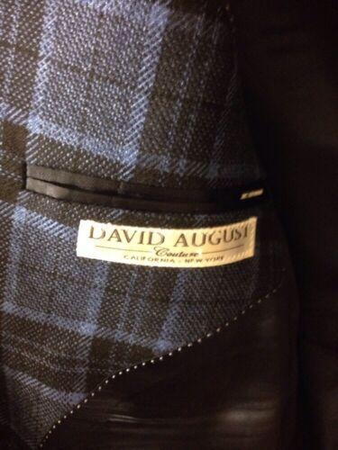 Corto August 42 Cashmere Nero Blueand David Giacca 6Y5xAqUvw6