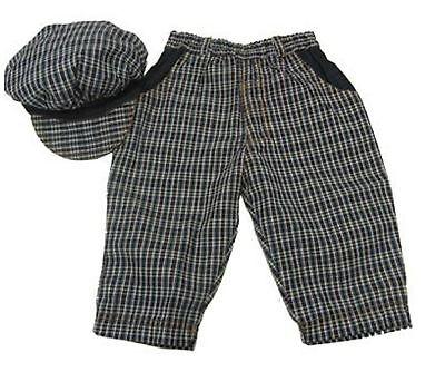 BNWT Baby Toddler Boys Jelly Beans Denim Pants & Hat Set - 1 2