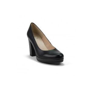 diseño de calidad bc34a 9849b Detalles de Zapatos de Tacón de Piel con Plataforma talla 35 36 37 38 39 40  41 Made in Spain