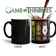 US Hot Game of Thrones Coffee Tea Mug Ceramic Mug Heat Sensitive Color Changing