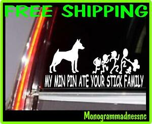MY-MIN-PIN-ATE-YOUR-STICK-FAMILY-VINYL-DECAL-STICKER-CAR-TRUCK