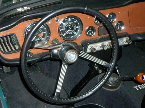 Guante De Cuero Cubierta Del Volante TRIUMPH TR2 TR3 TR4 TR5 TR6 TR7 GT6 Spitfire