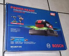 Bosch WC18CF-102 18-Volt Wireless Charger, Frame and Wireless Battery, Brand New