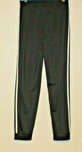 Adidas-Boy-039-s-Black-Tricot-Jogger-Pants-Size-XL